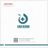 医疗医院凤凰再生现代标志设计 CDR