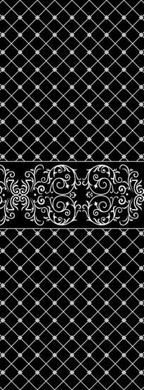 花纹网格雕刻图案