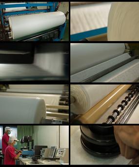 棉纱工厂生产视频 mp4