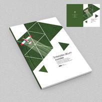 现代化播种农业科技画册封面