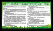 自然管理条例展板