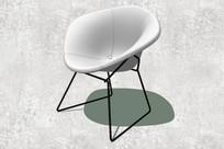 凹面沙发座椅