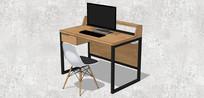 电脑学习书桌