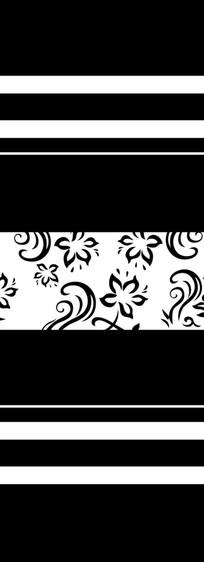 花纹门图雕刻图案