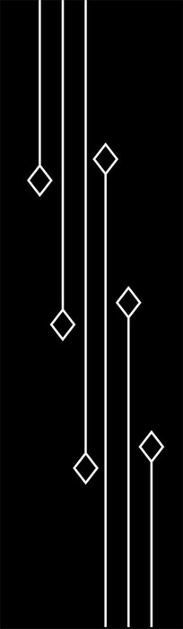 菱形线条雕刻图案 CDR