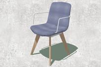 木脚架沙发座椅