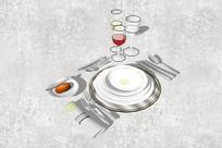西式餐桌摆件工具