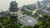 南昌市城市风光航拍视频素材