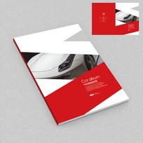 汽车改装服务手册封面设计