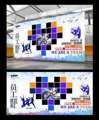 企业照片墙背景设计