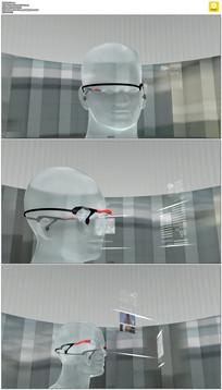 三维虚拟现实动态视频素材