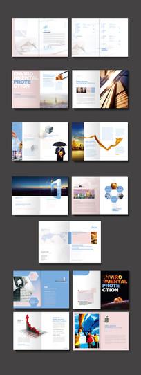 商务宣传册板式设计