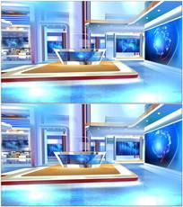新闻演播室背景视频