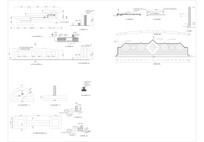景墙入口大门CAD施工图