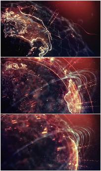 粒子科技地球视频