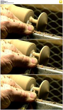 木工雕刻工具实拍视频素材