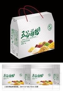 五谷杂粮大米包装礼盒设计