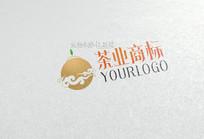 简约茶业商标设计 CDR