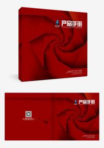 创意红色大气高端封面设计