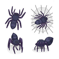 动漫蜘蛛插图素材