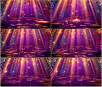 民族风情新疆舞舞台LED视频