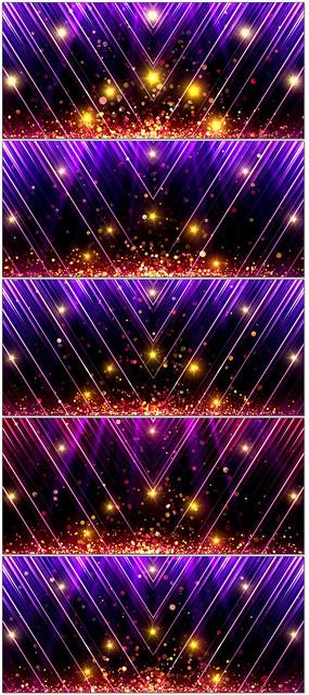 唯美大气粒子光线青春梦想LED大屏幕