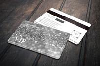银色珠宝VIP会员卡