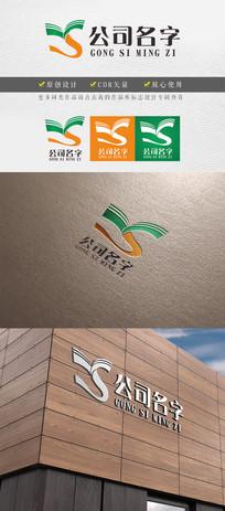 ys字母变形教育logo