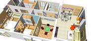 大型室内家装模型