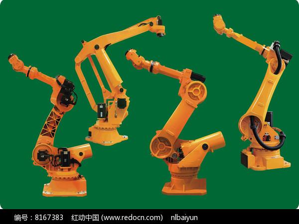 工业机器人矢量图图片