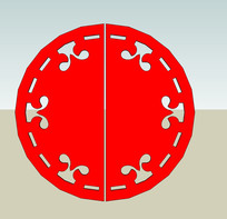 圆形装饰图案