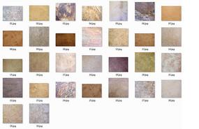 彩色大理石纹理的贴图