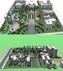 公共城市住宅景观规划