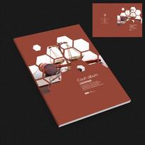 公平市场交易拍卖行宣传册封面设计