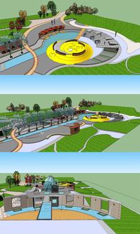 绿地公园景观设计