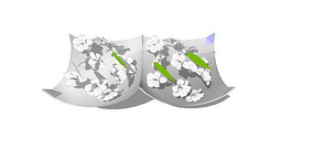 奇葩花盆植物3d模型
