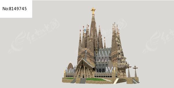 圣家族大教堂图片