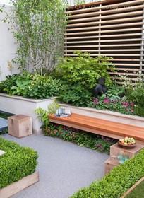 私家小庭院景观意向图 JPG