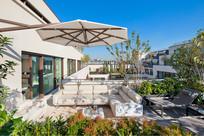 庭院休闲空间景观设计 JPG