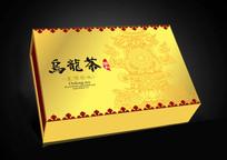 乌龙茶礼盒包装设计