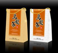 乌龙茶手提包装设计