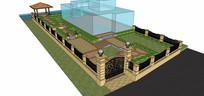 小型庭院景观设计
