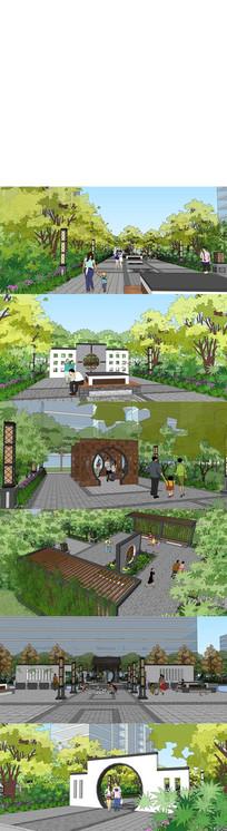 休闲公园设计