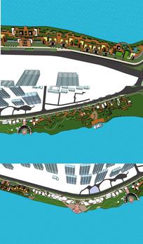 沿海城市滨水景观设计