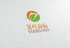 简约茶叶logo