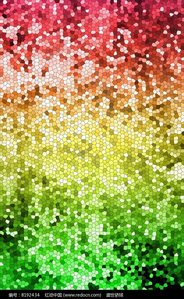 七彩方格背景纹理图片