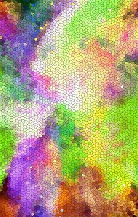 七彩装饰墙纸设计