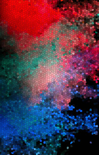 色彩创意装饰画