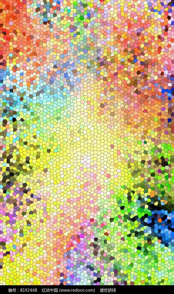 色彩艺术墙画  图片
