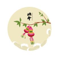 端午节矢量素材葫芦
